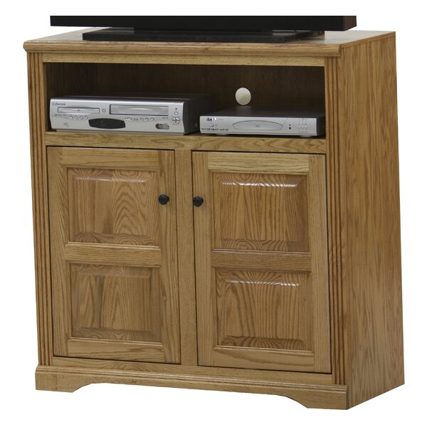Caelan Solid Wood TV Stand For TVs Up To 50