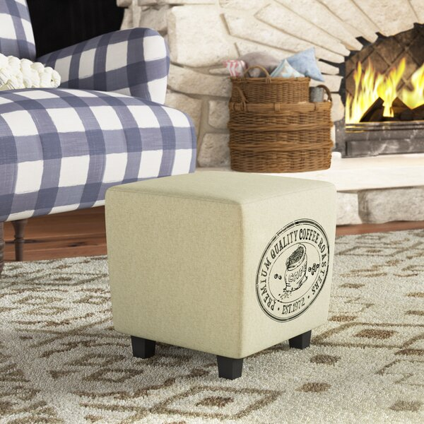 Glenside Vintage French Ottoman by Gracie Oaks