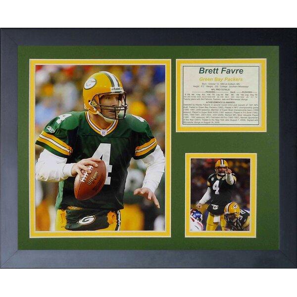 Brett Favre Home Framed Memorabilia by Legends Never Die