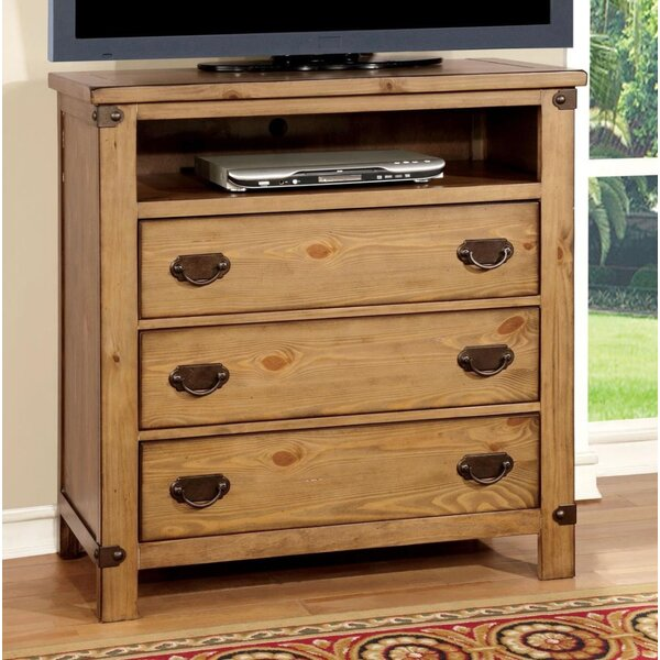 Union Rustic Bedroom Media Chests