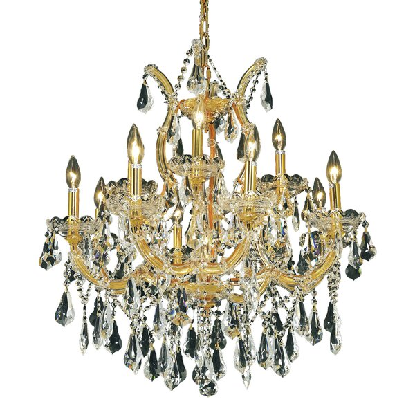 Regina 13 - Light Candle Style Tiered Chandelier by House of Hampton House of Hampton