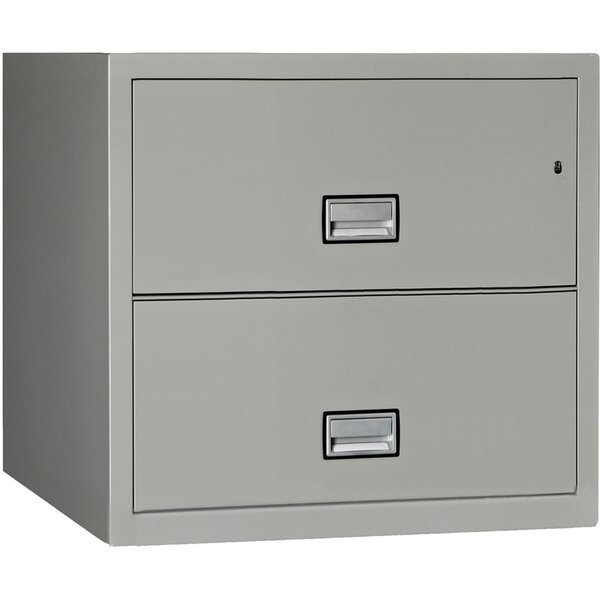 2-Drawer Lateral Filing Cabinet by Phoenix Safe International2-Drawer Lateral Filing Cabinet by Phoenix Safe International