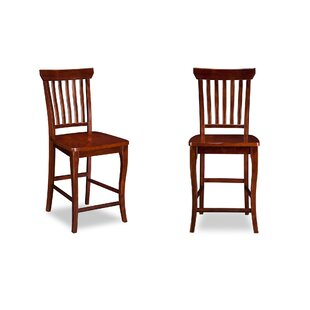 Jennell Pub 42 Bar Stool (Set of 2) by DarHome Co