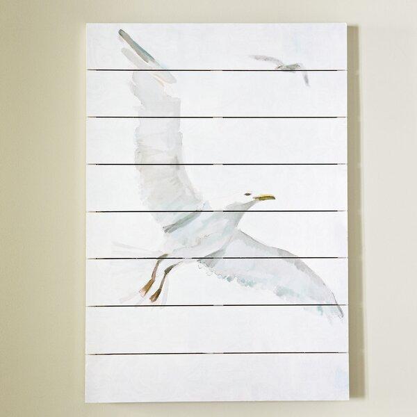 Soaring Gull Wall Art by Birch Lane™