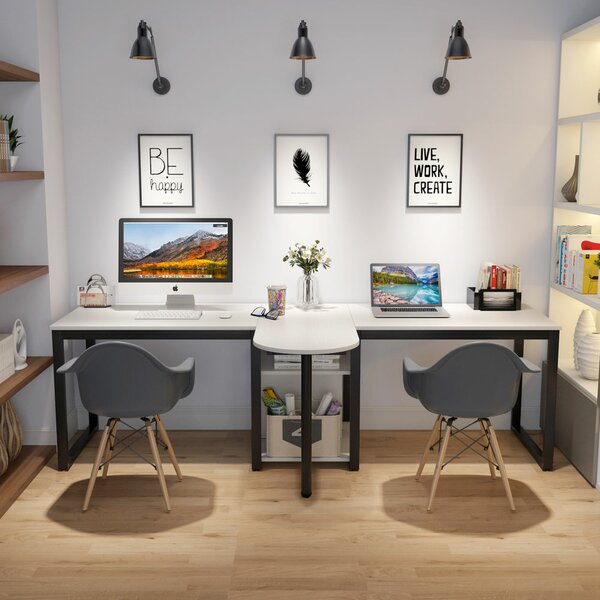 Double Workstation Desk