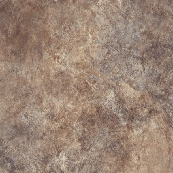 Ovations Textured Slate 14 x 14 x 160mm Luxury Vinyl Tile in Brown by Congoleum