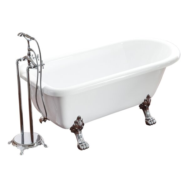 Signature Series 59 x 29.5 Soaking Bathtub by Belvedere Bath