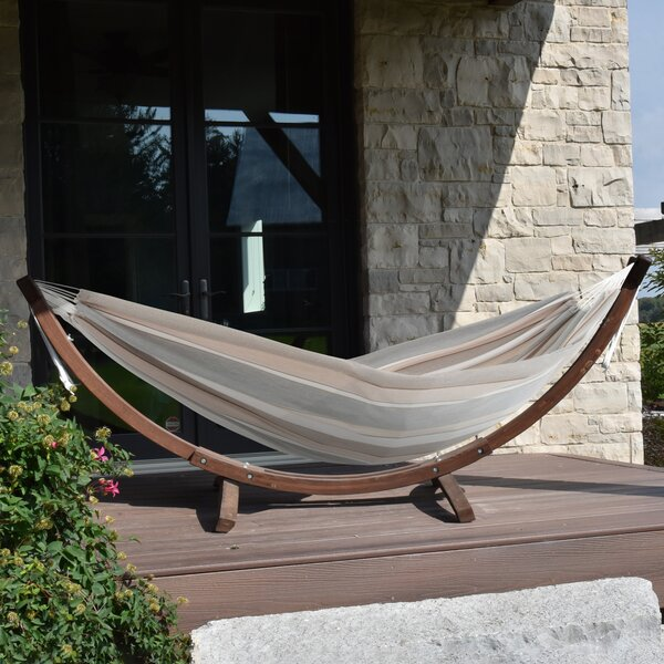 Bucknam Double Classic Hammock with Stand by Ebern Designs Ebern Designs