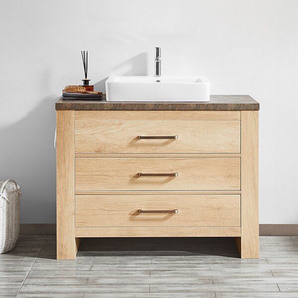 Kemp 42 Single Bathroom Vanity Set by Union Rustic