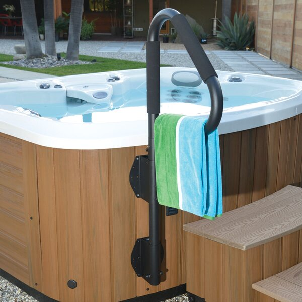 SpaEscort Swiveling Hand Rail and Towel Bar by Carefree Stuff