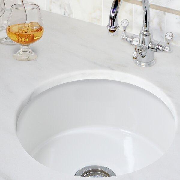 Cape 17.75 L x 17.75 W Bar Sink
