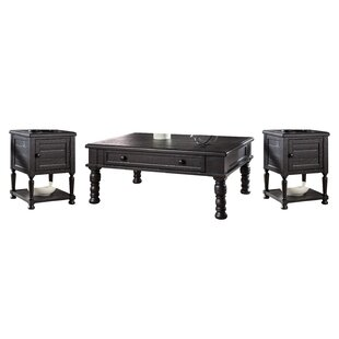 Fargo 3 Piece Coffee Table Set Laurel Foundry Modern Farmhouse