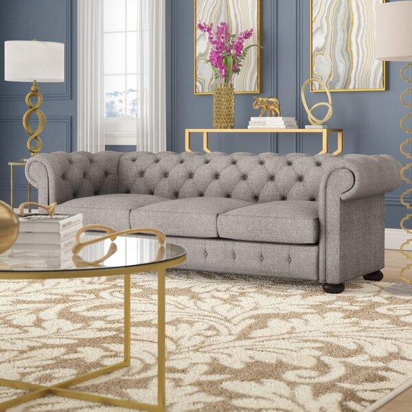 Vegard Chesterfield Sofa by Willa Arlo Interiors