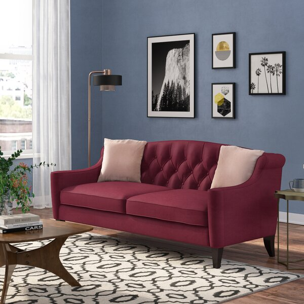 Valuable Price Pamelia Sofa by Willa Arlo Interiors by Willa Arlo Interiors