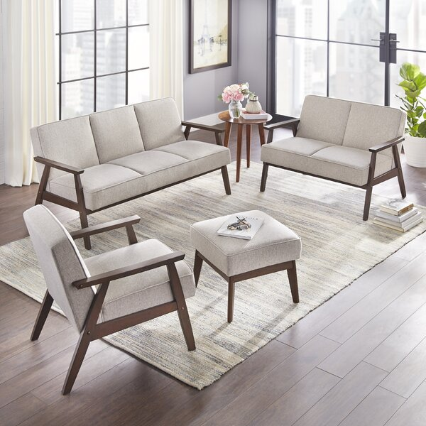Berthiaume 3 Piece Living Room Set by Brayden Studio
