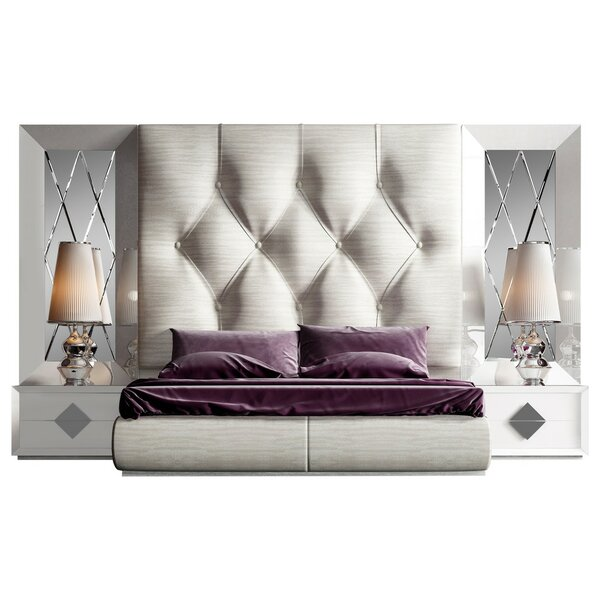 Knorr Panel 4 Piece Bedroom Set by Everly Quinn