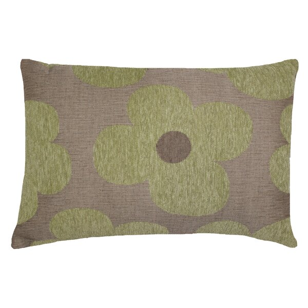 Urban Loft Chenille Floral Throw Pillow by Westex