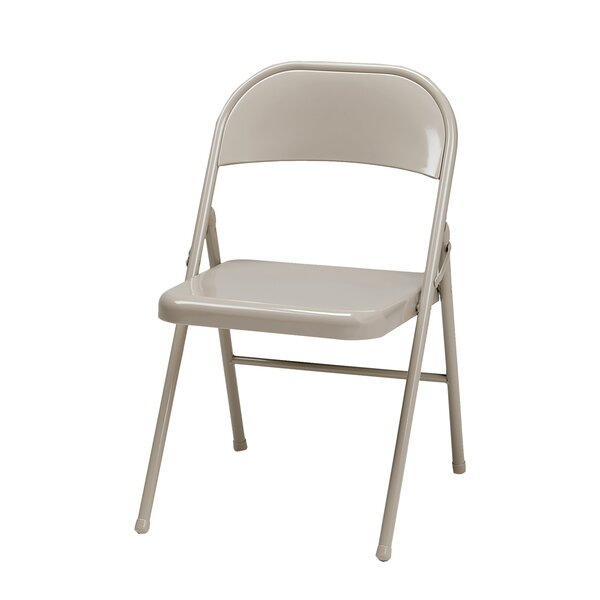 All Metal Folding Chair (Set of 4) by MECO Corporation