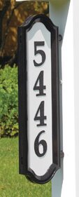 Nite Bright Richfield Home Address Sign by Whitehall Products