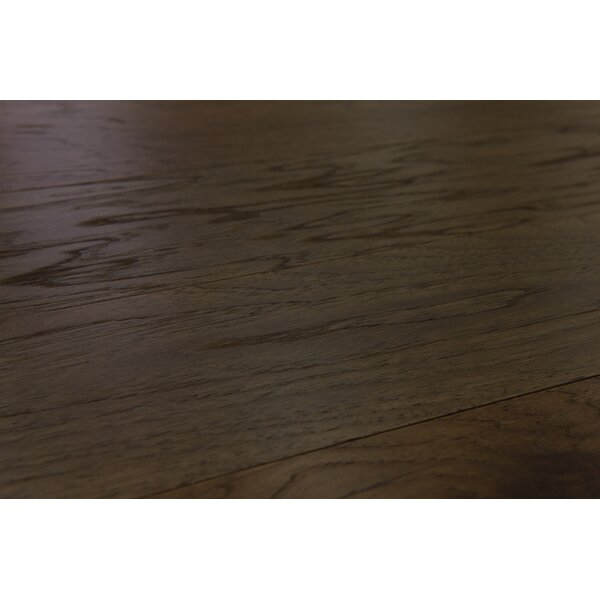 Lisbon 5 Engineered Hickory Hardwood Flooring in Coriander by Branton Flooring Collection