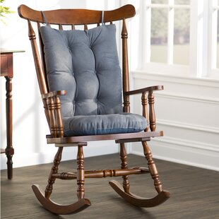 rocking chair chair seat cushions you ll love wayfair