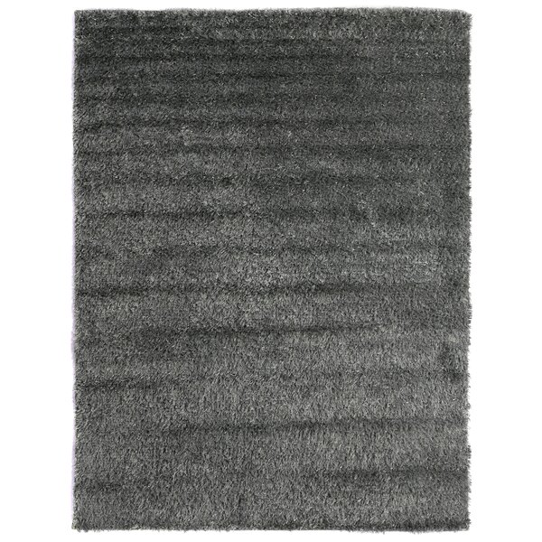 Shaggy Shag and flokati Wool Light Blue Area Rug by Exquisite Rugs