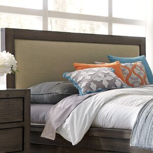 Aparna Upholstered Panel Headboard by Gracie Oaks
