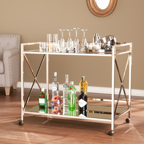 Keeley Bar Cart by Willa Arlo Interiors