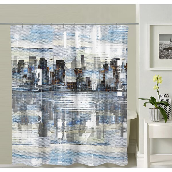 Halbert Shower Curtain by Williston Forge