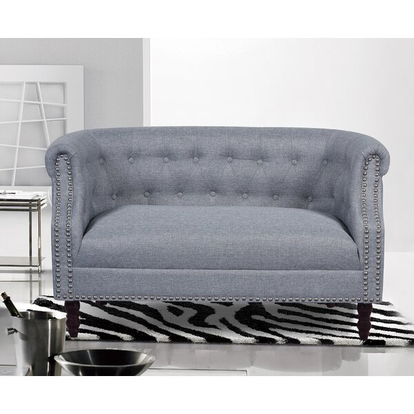 Weekend Choice Stotfold Chesterfield Loveseat by Charlton Home by Charlton Home