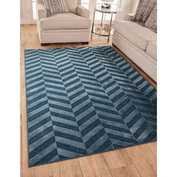 Mccusker Blue Area Rug by Latitude Run