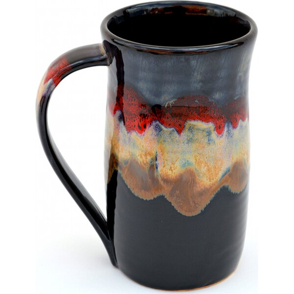 Karmen Earthspirit Glaze Tankard Coffee Mug by Bloomsbury Market