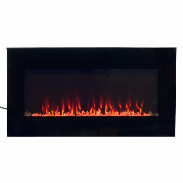 Arlo Wall Mounted Electric Fireplace Insert by Wade Logan