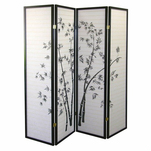 Kingman Shoji 4 Panel Room Divider by World Menagerie