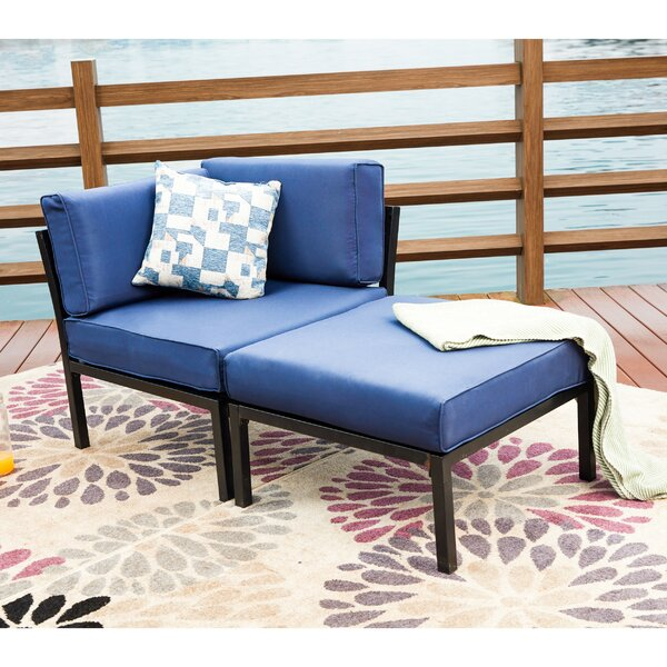 Payeur Loveseat with Cushions by Alcott Hill
