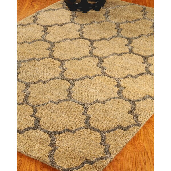 Wool Pandora Beige Area Rug by Natural Area Rugs