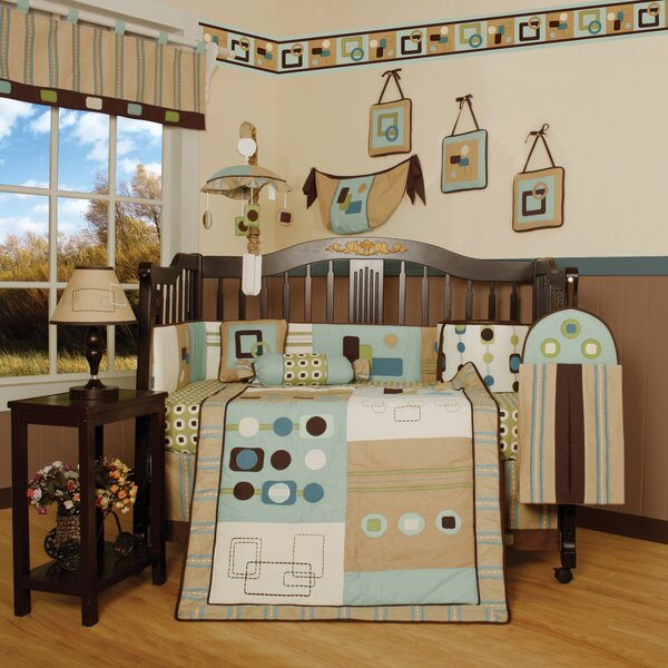 Boutique Baby Artist 13 Piece Crib Bedding Set by