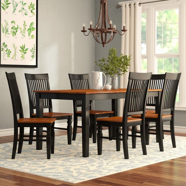 Cleobury 7 Piece Extendable Breakfast Nook Dining Set by August Grove