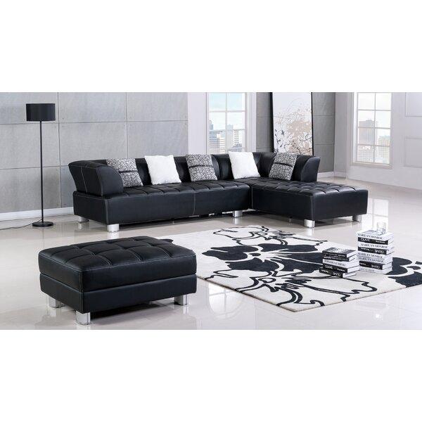 Henriquez Living Room Sectional by Orren Ellis