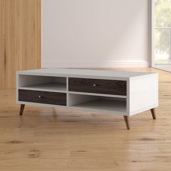 Brightwood Contemporary Coffee Table by Mercury Row