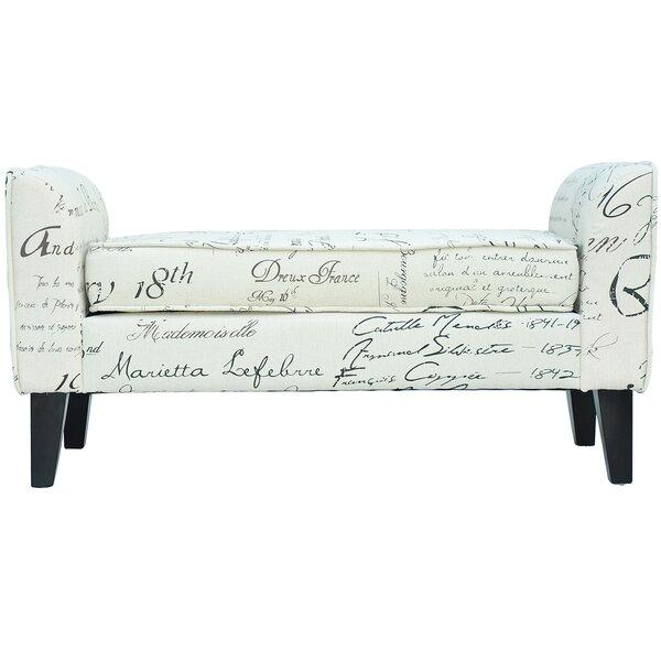 Upholstered Bench by HomCom