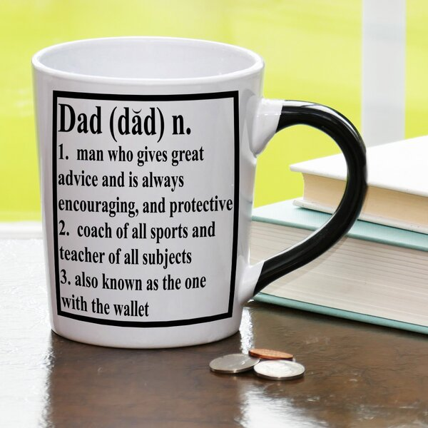 20 oz Dad Definition Stoneware Coffee Mug by New Morning Imports