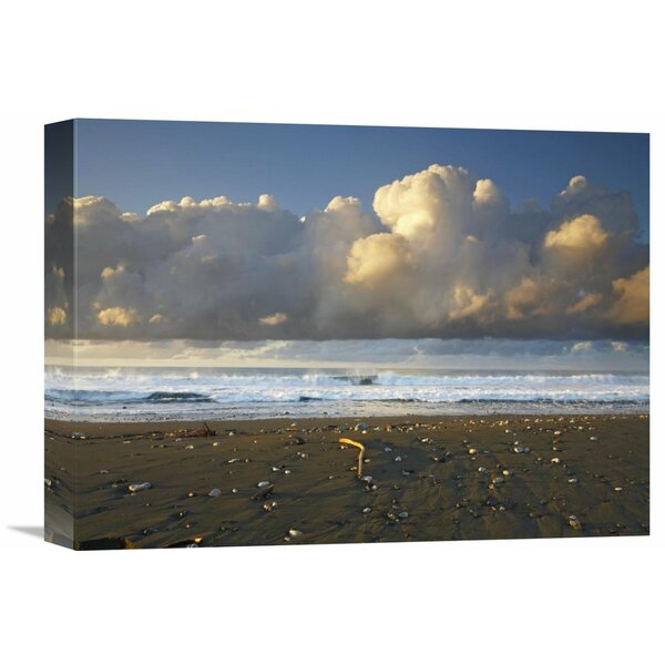 Nature Photographs Beach and Waves, Corcovado National Park, Costa Rica by Tim Fitzharris Photographic Print on Wrapped Canvas by Global Gallery