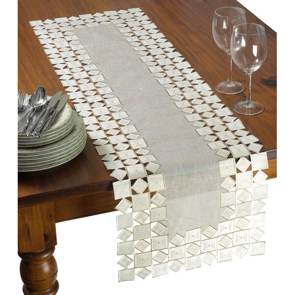 Irene Embroidered Table Runner by Astoria Grand