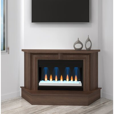 Waters Transitional Electric Fireplace Red Barrel Studio