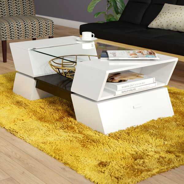 Adamski Coffee Table With Storage By Orren Ellis