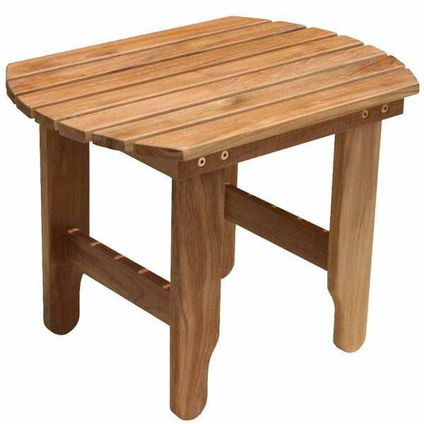 Teak Adirondack Side Table by Douglas Nance