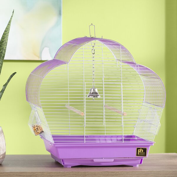 Zoe Scallop Roof Budgie Cage by Archie & Oscar