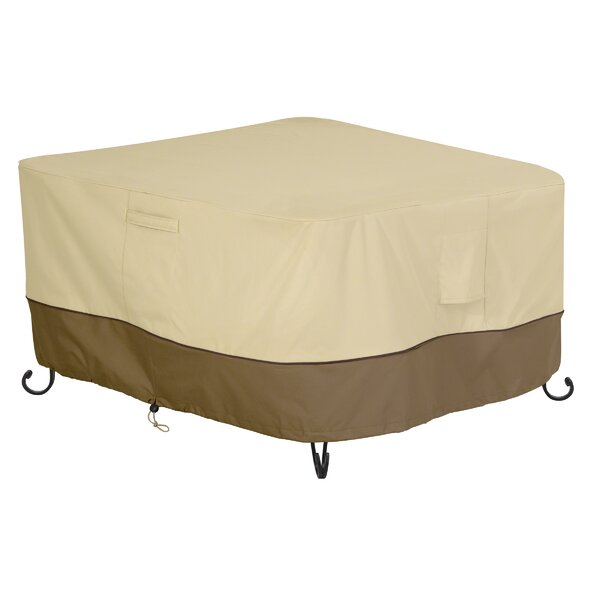 Square Durable and Water Resistant Outdoor Fire Pit Cover by Red Barrel Studio