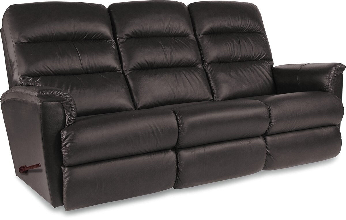 defaultname - Brown Leather Recliner